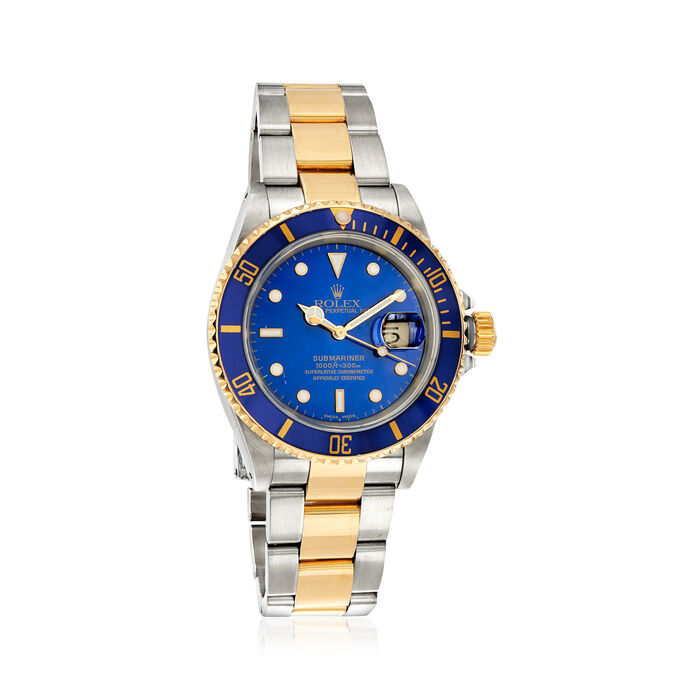Pre-Owned Rolex Submariner Men's 40mm Automatic Watch in Stainless Steel and 18kt Yellow Gold, , default