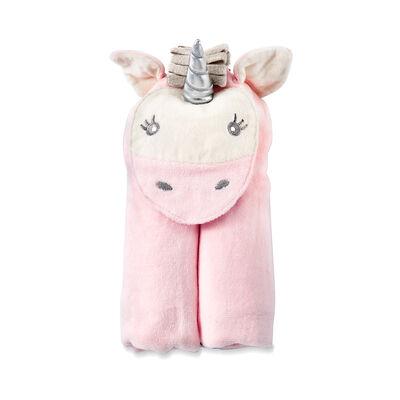 Elegant Baby Hooded Unicorn Personalized Bath Towel , , default