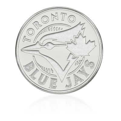 Sterling Silver MLB Toronto Blue Jays Lapel Pin, , default