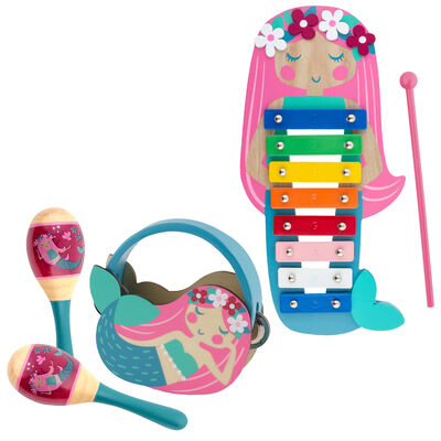 Child's 5-pc. Mermaid Percussion Set by Stephen Joseph