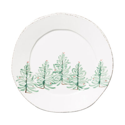 """Lastra """"Holiday"""" Round Platter from Italy"""