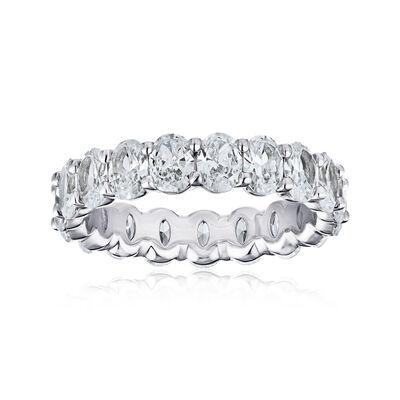 3.40 ct. t.w. Diamond Eternity Wedding Band in Platinum, , default