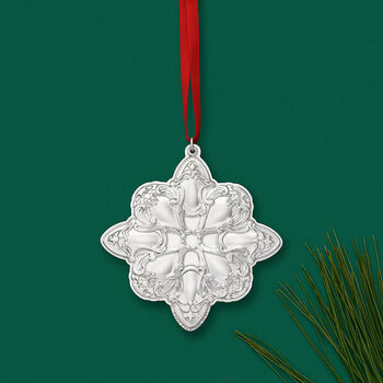 Gorham 2019 Annual Sterling Silver Chantilly Star Ornament - 12th Edition