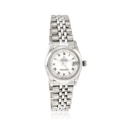 Certified Pre-Owned Rolex Datejust Women's 30mm Automatic Watch in Stainless Steel, , default