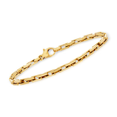 C. 1990 Vintage 18kt Yellow Gold Cable-Link Bracelet, , default