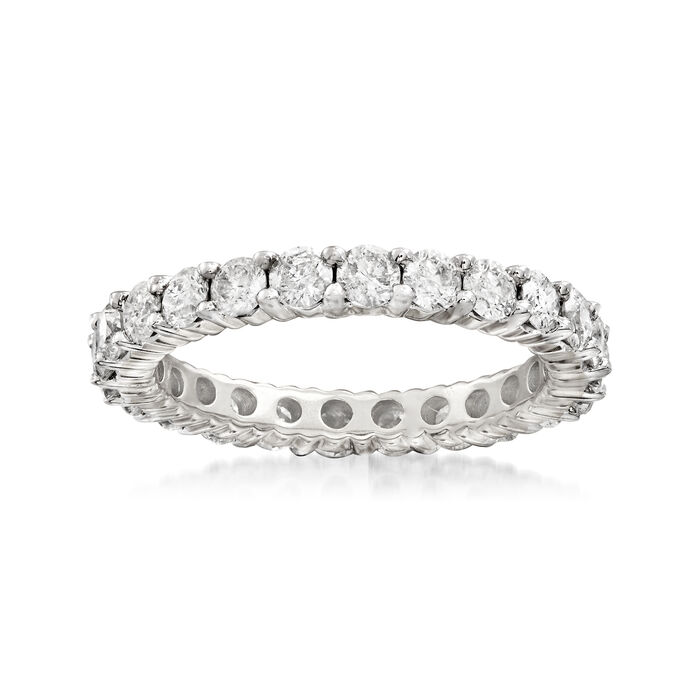 2.00 ct. t.w. Diamond Eternity Band in 14kt White Gold, , default