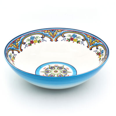"Euro Ceramica ""Zanzibar"" Serving Bowl"