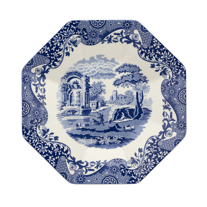 "Spode ""Blue Italian"" Octagonal Platter"