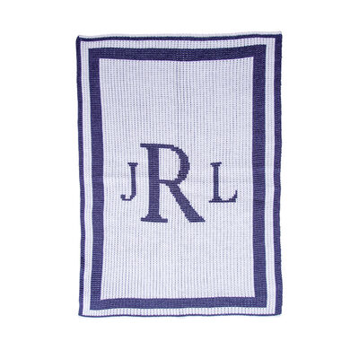Butterscotch Blankees Personalized Monogram Blanket, , default