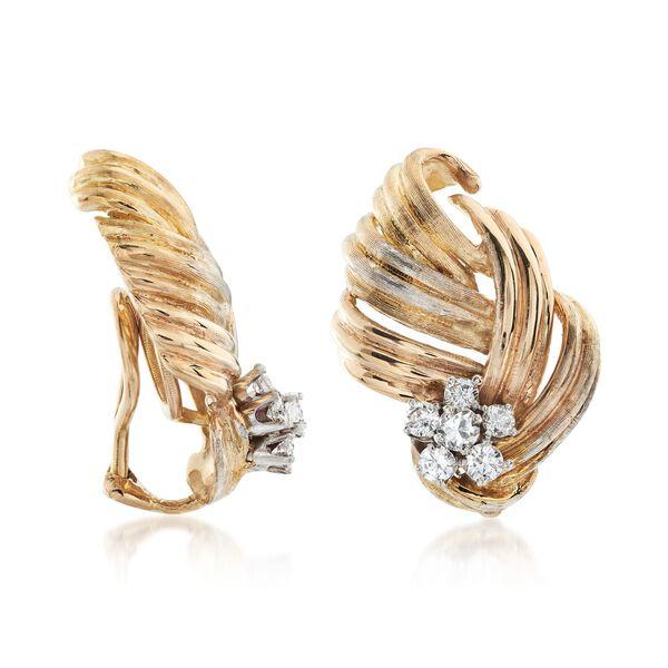 Jewelry Estate Earrings #894268