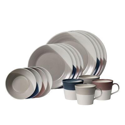"Royal Doulton ""Bowls of Plenty"" 16-pc. Multicolored Dinnerware Set"