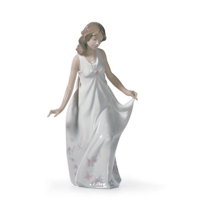 "Lladro ""Wonderful Mother"" Porcelain Figurine"