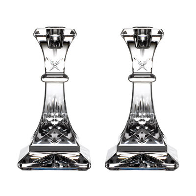 "Waterford Crystal ""Gift Bar"" Pair of Lismore Candlesticks, , default"