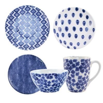 "Vietri ""Santorini"" Assorted Dinnerware from Italy"