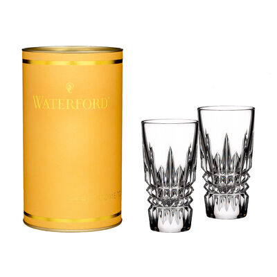 "Waterford Crystal ""Giftology"" Set of Two Lismore Diamond Shot Glasses, , default"