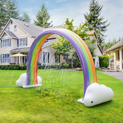 Child's Rainbow Inflatable Sprinkler