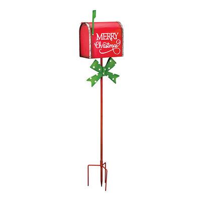 Regal Holiday Mailbox Garden Stake, , default