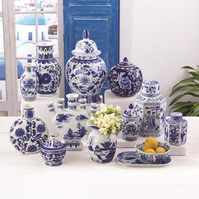 Canton Collection 22-pc. Ceramic Decor Set, , default