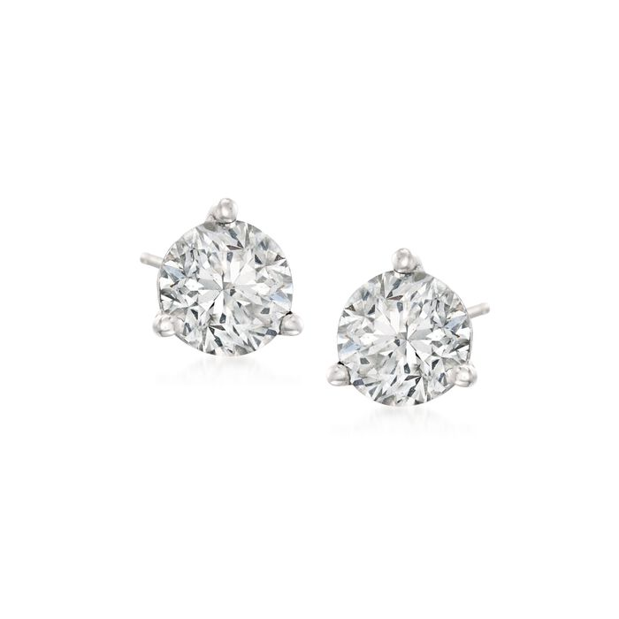 .25 ct. t.w. Diamond Martini Stud Earrings in Platinum
