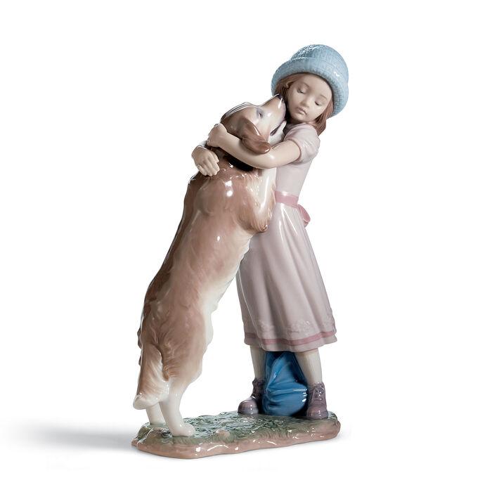 "Lladro ""A Warm Welcome"" Porcelain Figurine , , default"