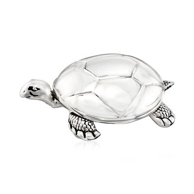 "Reed & Barton ""Tortoise"" Music Box, , default"