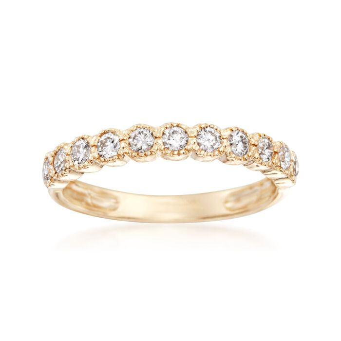 .50 ct. t.w. Diamond Ring in 14kt Yellow Gold, , default