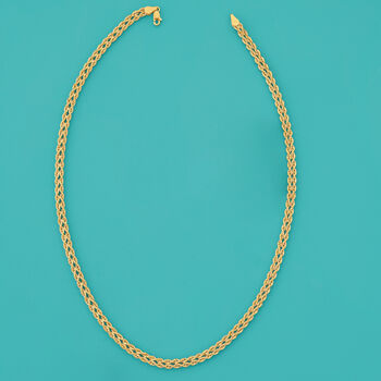 14kt Yellow Gold Double Rope Necklace, , default