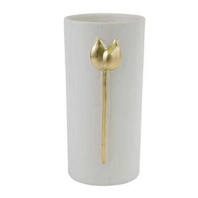 "Vietri ""Fiori"" Tulip Small Vase from Italy"