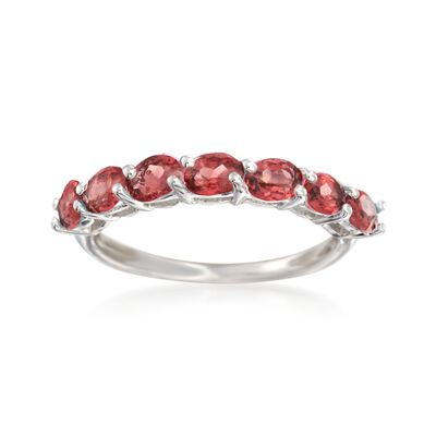1.40 ct. t.w. Garnet Ring in Sterling Silver, , default