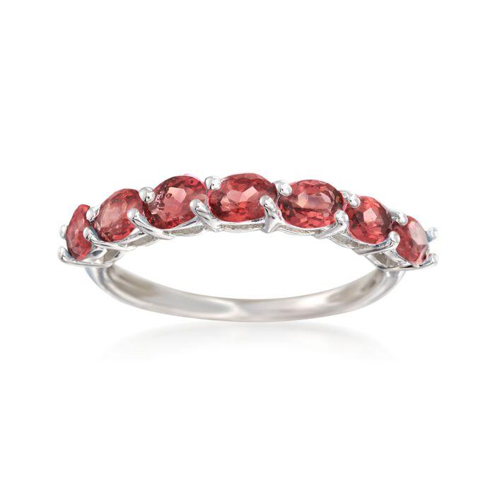 1.40 ct. t.w. Garnet Ring in Sterling Silver, , default