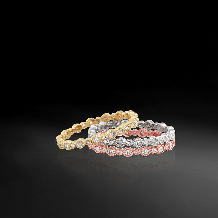 .25 ct. t.w. Diamond Eternity Band in 14kt Rose Gold