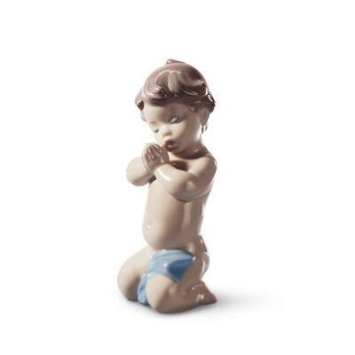 "Lladro ""A Child's Prayer"" Porcelain Figurine, , default"