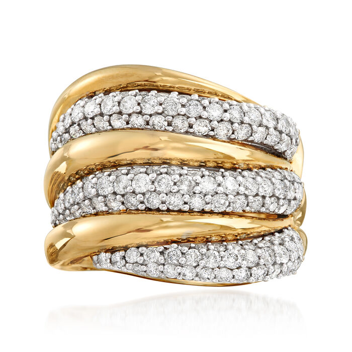 2.00 ct. t.w. Diamond Ring in 14kt Yellow Gold, , default