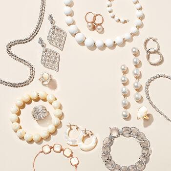 2.00 ct. t.w. Graduated Bezel-Set Diamond Necklace in 14kt White Gold, , default
