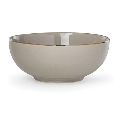 "Lenox ""Trianna Taupe"" Medium Porcelain Serving Bowl , , default"