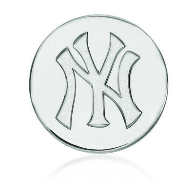 Sterling Silver MLB New York Yankees Lapel Pin
