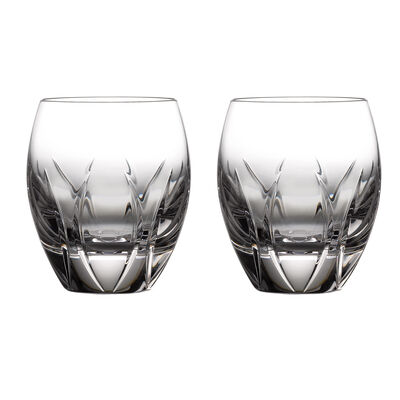 "Waterford Crystal ""Ardan Tonn"" Set of 2 Double Old-Fashioned Glasses, , default"