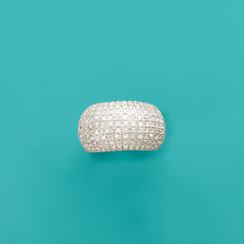 2.00 ct. t.w. Diamond Dome Ring in Sterling Silver, , default