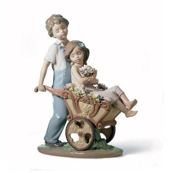 "Lladro ""The Prettiest of All"" Porcelain Figurine, , default"