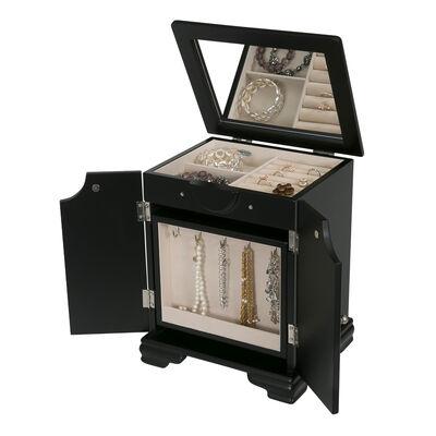 "Mele & Co. ""Cyrpus"" Wooden Jewelry Box, , default"