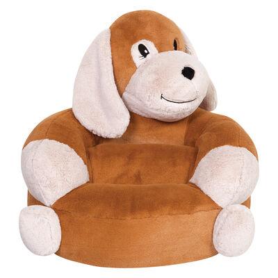 Children's Plush Puppy Chair, , default