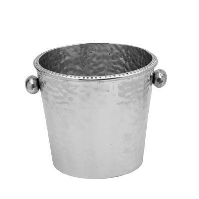"""Wilton Armetale """"River Rock"""" Ice Bucket"""