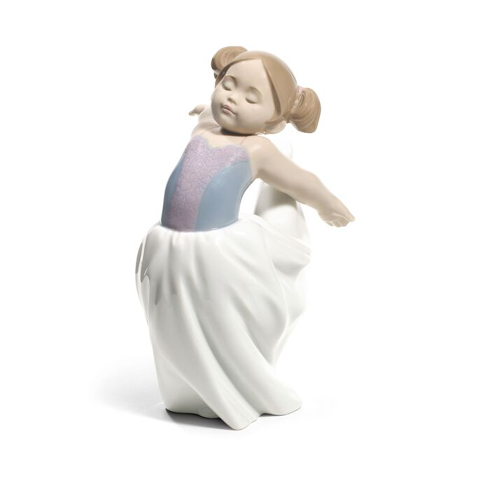 """Nao """"About to Go on Stage"""" Porcelain Figurine"""
