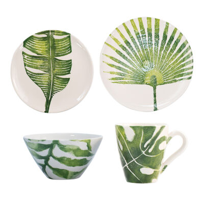 "Vietri ""Into the Jungle"" Dinnerware from Italy, , default"