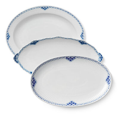 "Royal Copenhagen ""Princess"" Oval Platter"