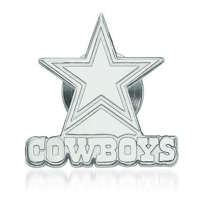 Sterling Silver NFL Dallas Cowboys Lapel Pin