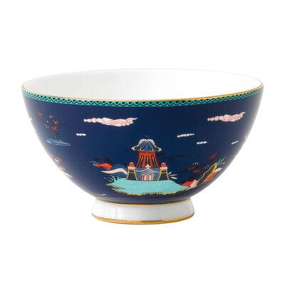 "Wedgwood ""Wonderlust"" Blue Pagoda Bowl, , default"