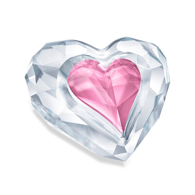 "Swarovski Crystal ""Only for You"" Heart Figurine, , default"