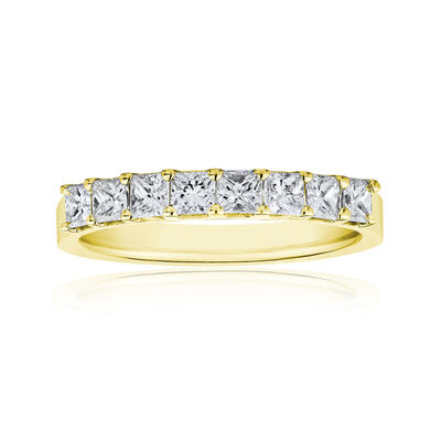 1.60 ct. t.w. Princess-Cut Diamond Ring in 14kt Yellow Gold, , default