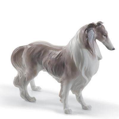 "Lladro ""Shetland Sheepdog"" Porcelain Figurine, , default"
